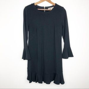 🌿 Loft Black Long Sleeve Dress